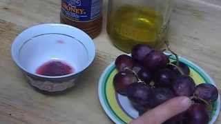 """How to Make Nourishing Homemade Face Mask with Natural Home Remedies Honey Grapes & Olive Oil"" Thumbnail"