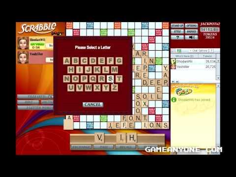 Scrabble - Pogo Games - Co-op With Yoshiller [5]