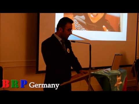 Sufyan Ayazi of BRSO Hosting BRP Conference in Germany Frank
