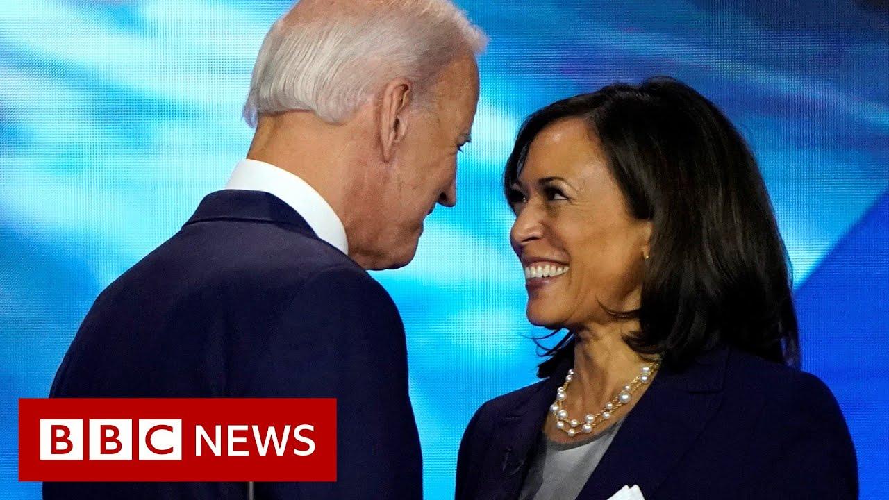 Biden VP pick: Kamala Harris chosen as running mate - BBC News