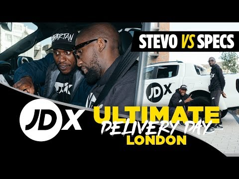Stevo The Madman Vs Specs Gonzalez | JDX Ultimate Delivery Day London
