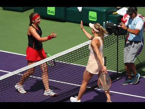 2018 Miami Quarterfinals | Jelena Ostapenko vs. Elina Svitolina | WTA Highlights