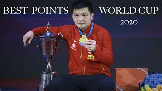 Best points Table Tennis World Cup 2020