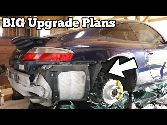 My Salvage Porsche 911's Suspension is WRECKED! Let's make it BETTER than NEW!