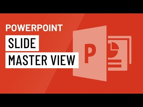 PowerPoint 2016: Slide Master View