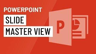 PowerPoint 2016: Slide Master View