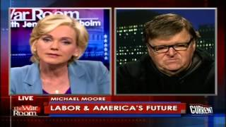 Michael Moore on The War Room with Jennifer Granholm, 12/12/12, Part 1