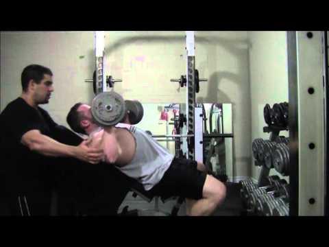 Personal trainer Ottawa - Chest back