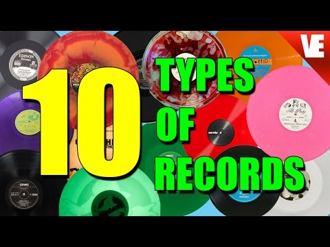 RECORDS: THE 10 DIFFERENT TYPES