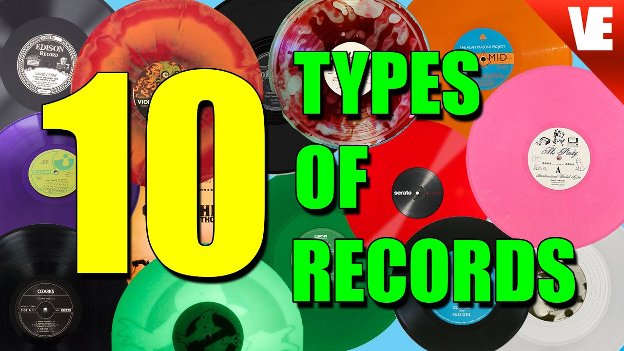 Records The 10 Different Types Youtube