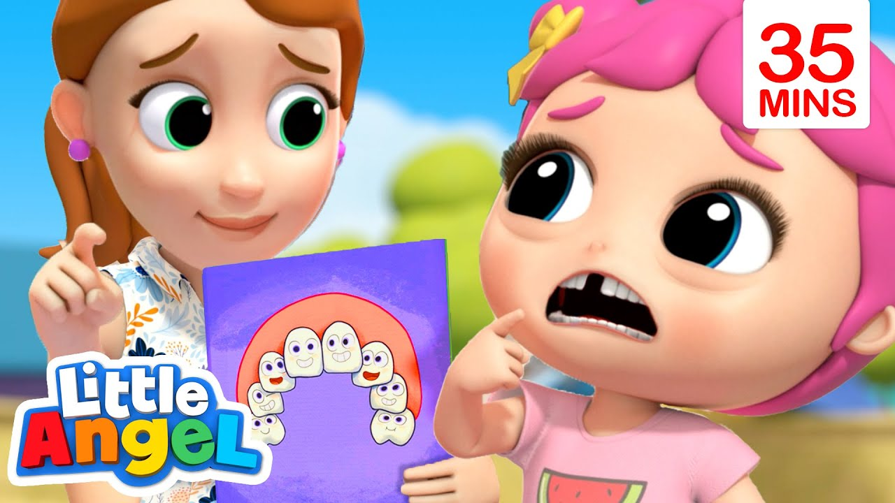 Wobbly Tooth Song + More Nursery Rhymes and Kids Songs   Little Angel