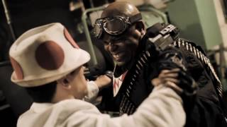 Toad VS Bullet Bill Fight Scene from Mario Warfare