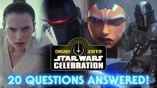 20 Star Wars Celebration 2019 Questions Answered