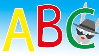 Alphabet Song with Sneaky the Rabbit |  build vocabulary, learn your ABCs