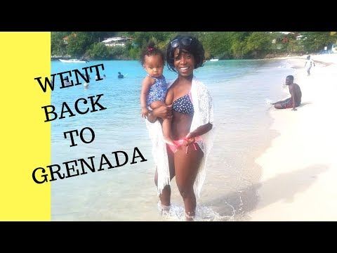 I went back to Grenada pt. 1| Grenada Travel Vlog #5
