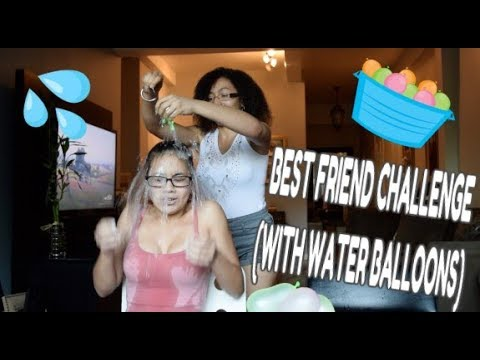 BEST FRIEND TAG (WITH WATER BALLOONS!!!)