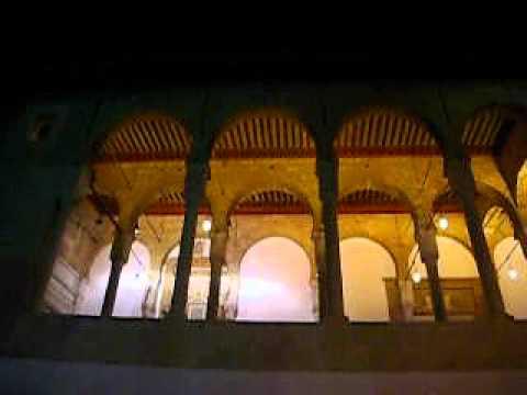 ラマダン夜のグランドモスク(Jamaa ez Zitouna)@メディナ