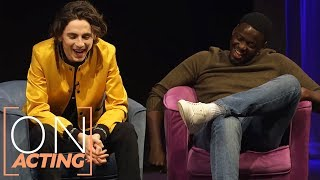 How Timothée Chalamet & Daniel Kaluuya Faced Sudden Popularity Differently | EE Rising Star Q&A