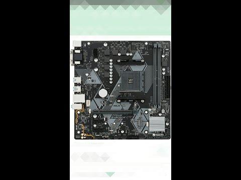 Материнская плата Asus Prime B450M-K (sAM4, AMD B450, PCI-Ex16)
