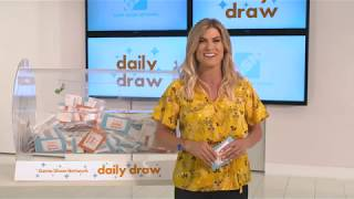 Daily Draw $500 Winner with Trish Suhr | September 19, 2018 | Game Show Network