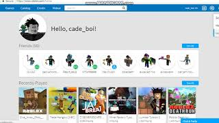 How to get free account in roblox 2018