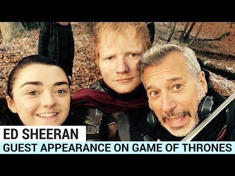 Ed Sheeran Makes Guest Appearance On Game Of Thrones