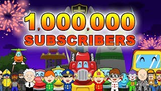 🎉 One Million Subscribers 🎉