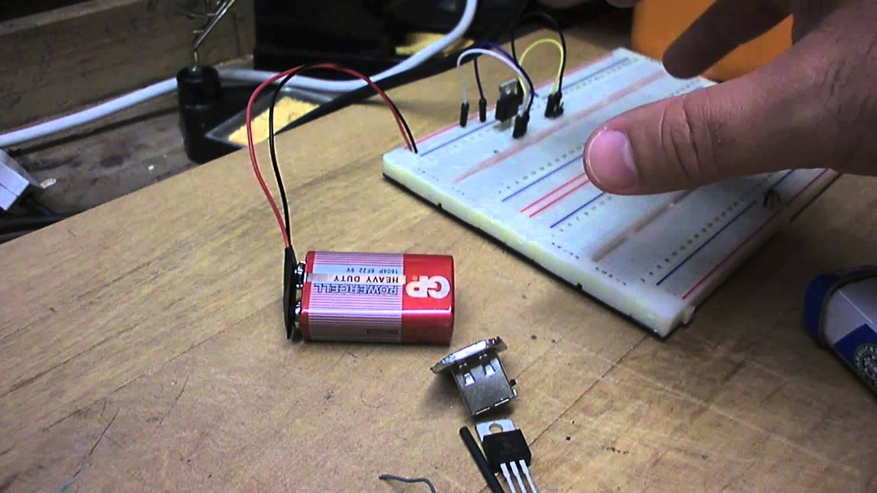 Raspberry Pi Build A Portable Battery Pack Youtube Hacked Circuits By 9volts