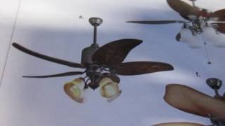 Ceiling fan Lowes catalog 2007