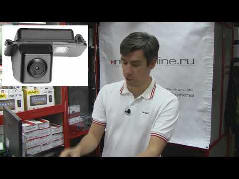 Переходная рамка Ford Focus 2 (2 DIN) / Камера заднего вида