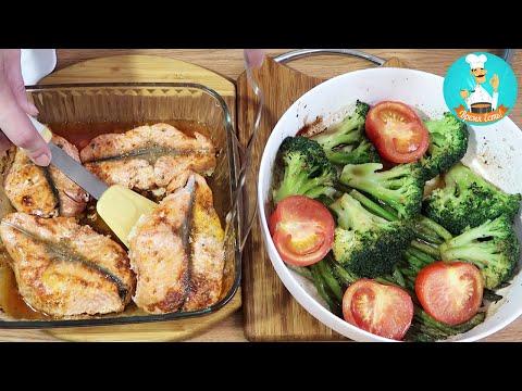 Рыба Форель, запеченная в духовке: рецепт, как приготовить рыбу с овощами пошагово 🐟🍲