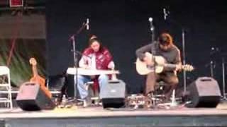 Pura Fe' performs improv jam with Danny Godinez