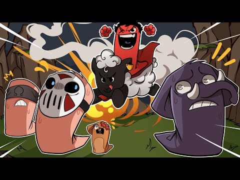 Worms: WMD | SUPER SHEEP SAVES THE DAY! (w/ H2O Delirious, Squirrel, Rilla, & Ohmwrecker)