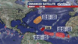 Hurricane Sam and tropical weather forecast: Sept 27, 2021