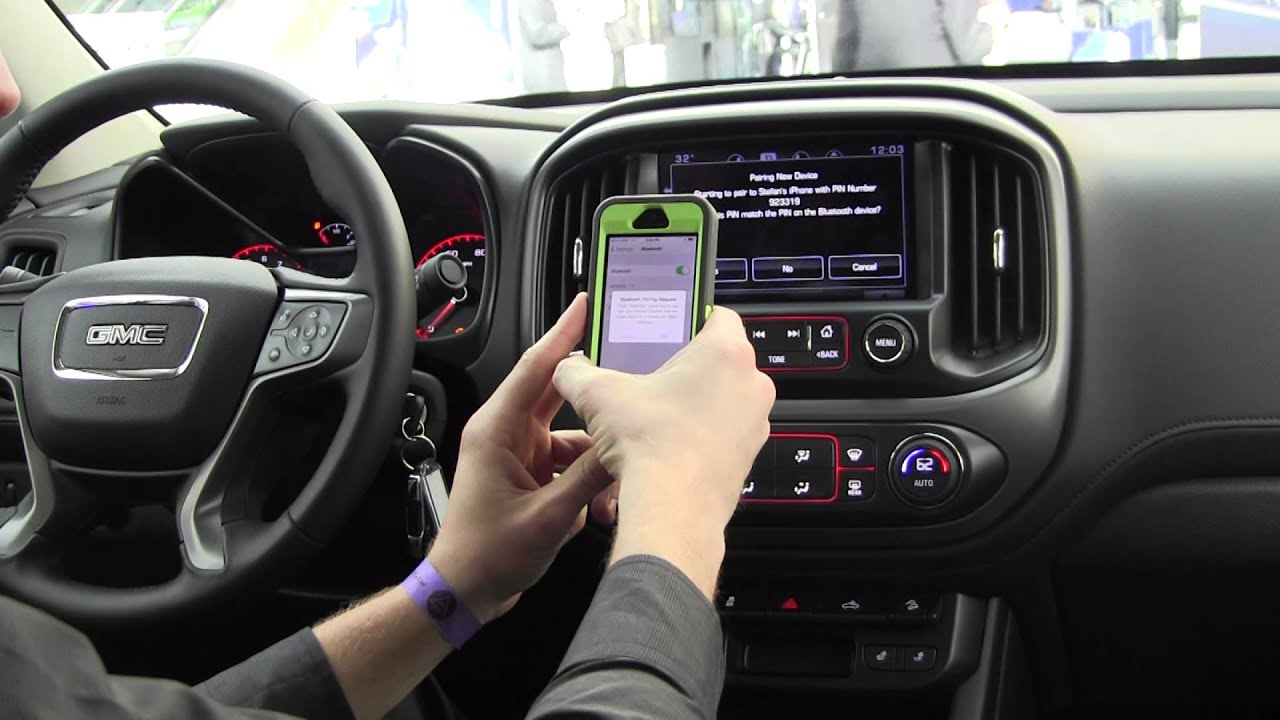 How to pair Bluetooth with iPhone 5-6+ for GMC and Chevy Cars | auto