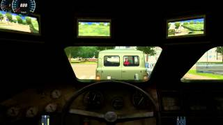 City Car Driving 1.2.5 Tank Panzer БТР-80 BTR-80 G27 [Full HD]