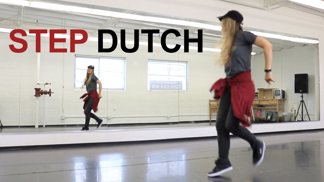 hip hop dance tutorial for beginners step by step choreography step dutch
