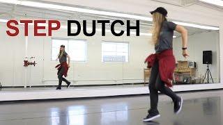 Hip hop dance tutorial for beginners step by step choreography - STEP DUTCH