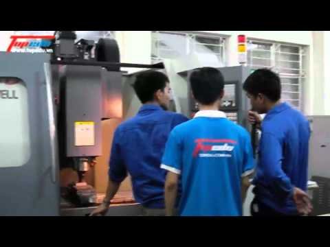 [ Lap trinh may phay CNC] tai Topedu
