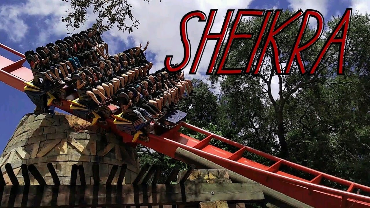 Sheikra Off Ride Busch Gardens Tampa Youtube