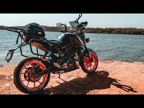 Touring Modifications on My KTM Duke 200  || Best Budget Modification.