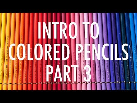 Intro to Colored Pencils, Part 3 | Paper, sharpening, troubleshooting and varnishing