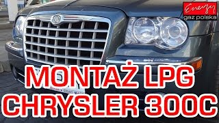 Gaz do Chryslera 300C 2.7 V6 2005r - montaż LPG BRC Sequent P&D