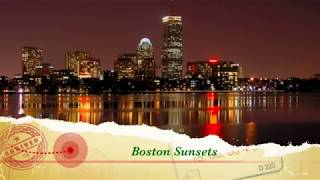 Boston Sunsets Celebrations Massachusetts by BK Bazhe