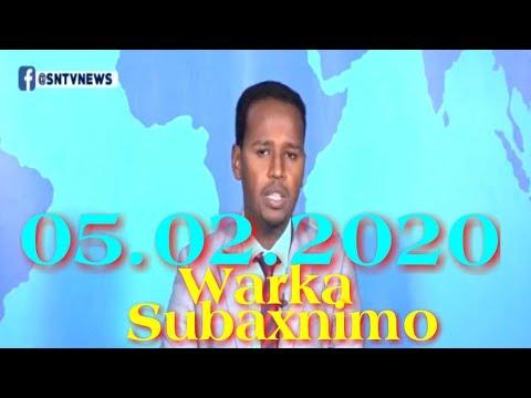Warka Subaxnimo SNTV 05.02.2020