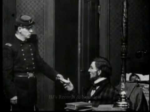 THE LIFE OF PRESIDENT ABRAHAM LINCOLN.  1915 Edison Silent Film.