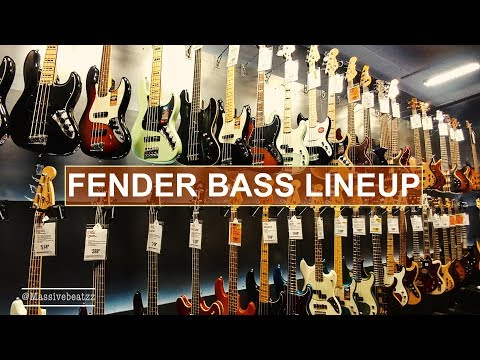 Download Youtube: BEST FENDER BASSES 2018