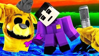 Realistic Minecraft FNAF GOLDEN FREDDY IN REAL LIFE