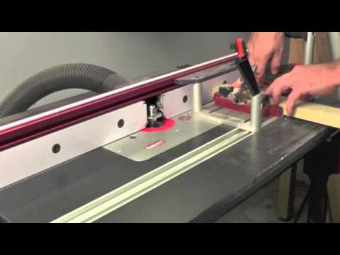 Infinity Cutting Tools - Making Divided Light Cabinet Doors - YouTube