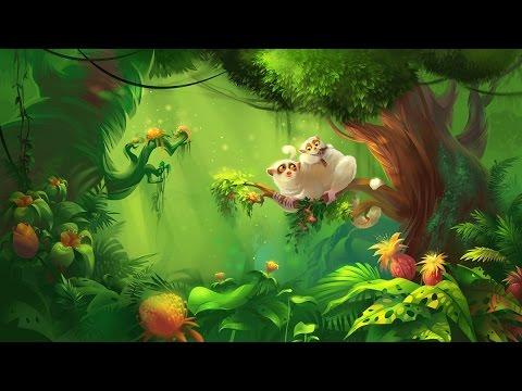 African Jungle Music  Monkey Rainforest
